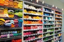 Магазины тканей. Товары для шитья и рукоделия