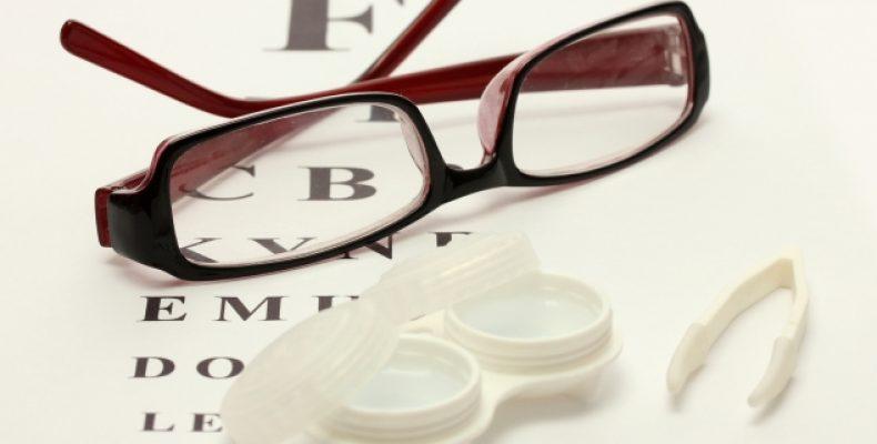 Оптика: очки и контактные линзы